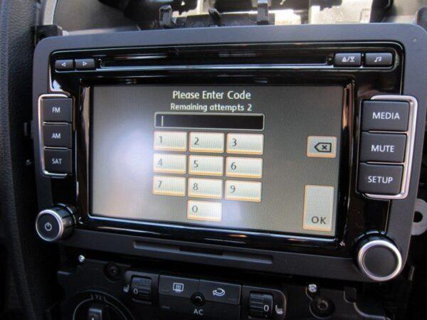Retrouver code pin autoradio Volkswagen