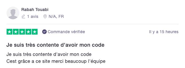 Avis code autoradio en ligne
